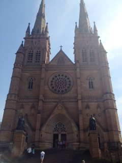 St Mary's Cathedral, in front