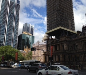 View of Sydney QVB