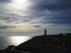 Lighthouse at Point Shank, Mornington Peninsula