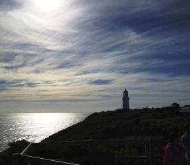 Lighthouse at Point Shank, Mornington Peninsula