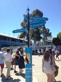 Australian Open 2013 - directions
