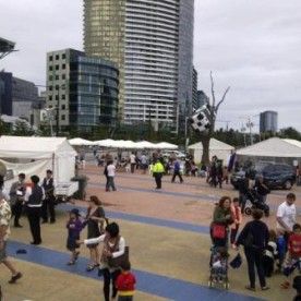 Australia Day in the Docklands