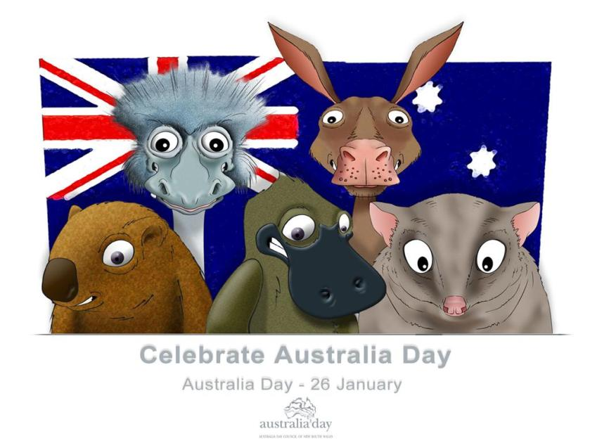 Celebrate Australia Day_animali
