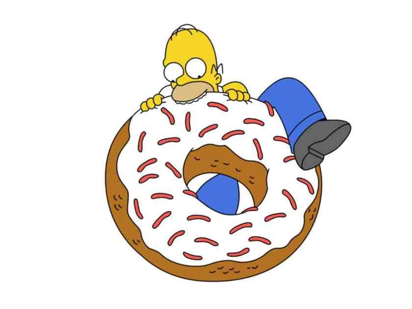 29395-the-simpsons-homer-eating-a-doughnut