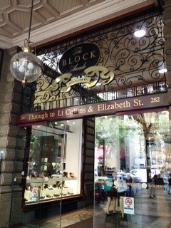 The Block Arcade in Melbourne