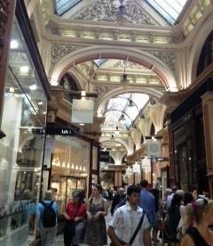The Block Arcade inside, Melbourne