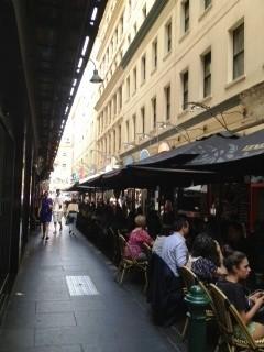 Degraves st, Melbourne CDB