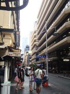 Degraves st sign, Melbourne CBD