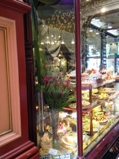 Patisserie window @ The Block Arcade in Melbourne - There is always a queue outside this place