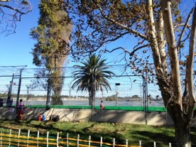 The circuit and the lake at Australian Grand Prix 2013, Albert Park