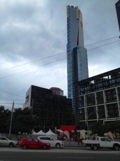 Dutch Market below the Eureka Tower