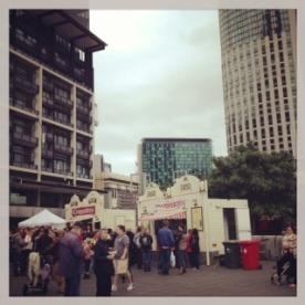 Dutch Market Stalls
