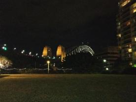 View on Harbour Bridge from La Capannina Restaurant