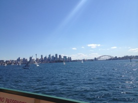 View on Sydney Bay