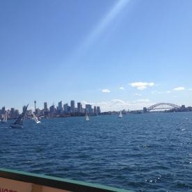 View on Sydney Bay