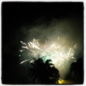 Fuochi d'artificio Capodanno 2012 a Port Douglas