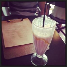 Delicious Smoothie @ 'The Little Larder', Port Douglas