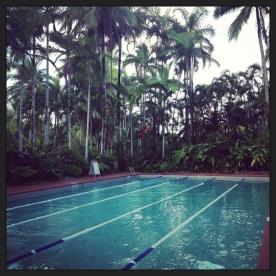 Lap Pool @ Shreaton Mirage Golf Club, Port Douglas