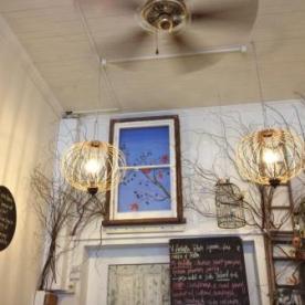Kinkfolk cafè Menu wall