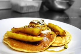 @ Miss Jackson - Ricotta Pancakes, grilled banana, honeycomb butter (Source: Miss Jackson FB photo)