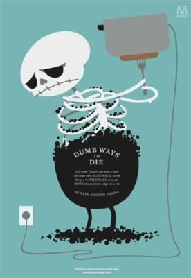 Dumb Ways to Die - Toaster