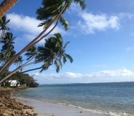 Shangri La 'post card' beach