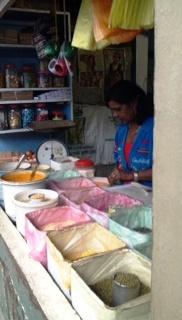 Spice market in Nadi, Fiji