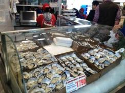 Oysters Sydney Fish Market
