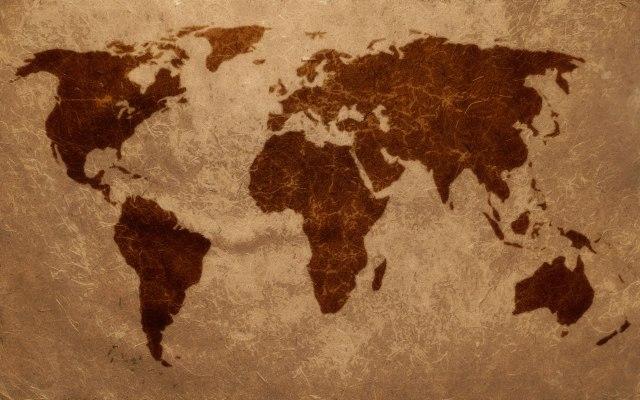 Cartina Del Mondo On Line.Mappa Del Mondo Anticata La Vale And Her World