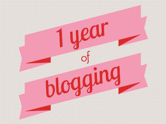 1 year of  blogging:lavaleandherworld.wordpress.com (source: www.sarahhearts.com)