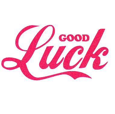 Good Luck (Source: www.yasminboland.com)