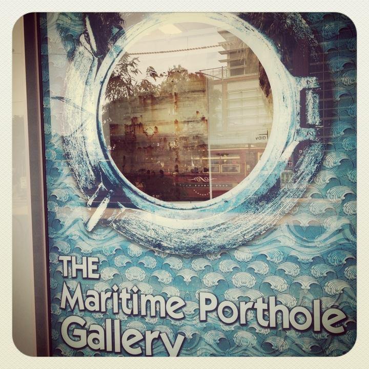 The Maritime Porthole Gallery (Photo Credit: lavaleandherworld.wordpress.com)
