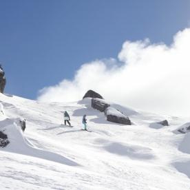 Cardrona Ski Resort slope (Photo Credit: lavaleandherworld.wordpress.com)
