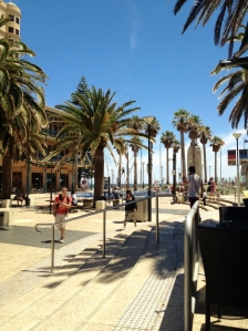 Glenelg Promenade, South Australia (Photo Credit: lavaleandherworld.wordpress.com)