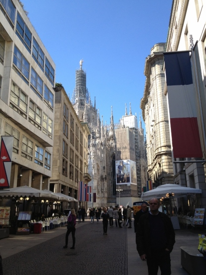 Corso Vittorio Emanuele, Milan (Photo credit: lavaleandherworld.wordpress.com)