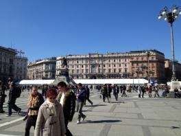 Piazza Duomo, Milan (Photo credit: lavaleandherworld.wordpress.com)