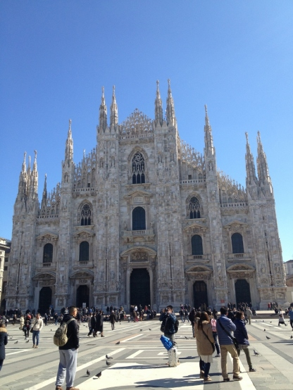 The Duomo, Milan (Photo credit: lavaleandherworld.wordpress.com)