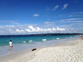 Hyams Beach, Jervis Beach, NSW March14 (Photo credit: lavaleandherworld.wordpress.com)