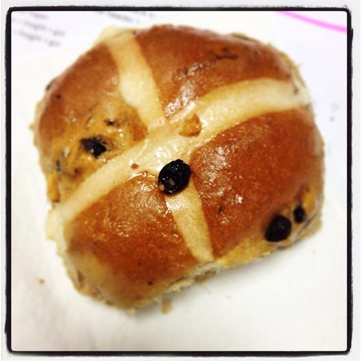 Hot Cross Bun (Photo Credit: lavaleandherworld.wordpress.com)