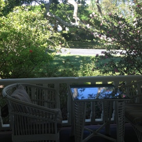 The Patio at Arcadia House (Photo Credit: lavaleandherworld.wordpress.com)