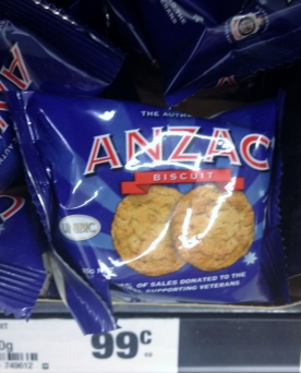 Anzac Day single Biscuit (Photo credit: lavaleandherworld.wordpress.com)