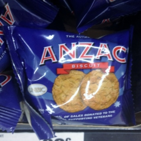 Anzac Day single Biscuit (Photo credit: lavaleandherworld.wordpress.com)