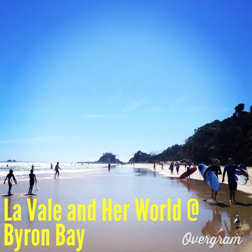 Byron Bay Beach (Photo Credit: lavaleandherworld.wordpress.com)