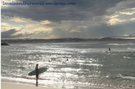 Surfer, Light and the Sea @ Tweed Heads (Photo Credit: lavaleandherworld.wordpress.com)