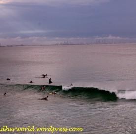 Surfers & Surfers Paradise at the Horizon (Photo credit: lavaleandherworld.wordpress.com)