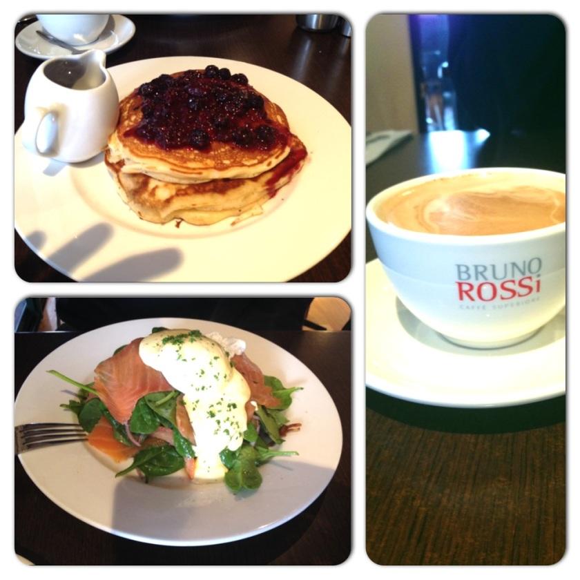 Breakfast at Binalong Bay Cafe, Tasmania (Photo Credit: lavaleandherworld.wordpress.com)