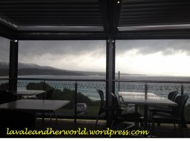 View from the Binalong Bay Cafe, TAS (Photo Credit lavaleandherworld.wordpress.com)