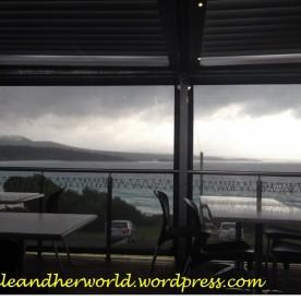 View from the Binalong Bay Cafe, TAS (Photo Credit lavaleandherworld.wordpress.com)