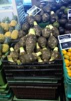 Manioc at the Noumea local market (Photo Credit: lavaleandherworld.wordpress.com)