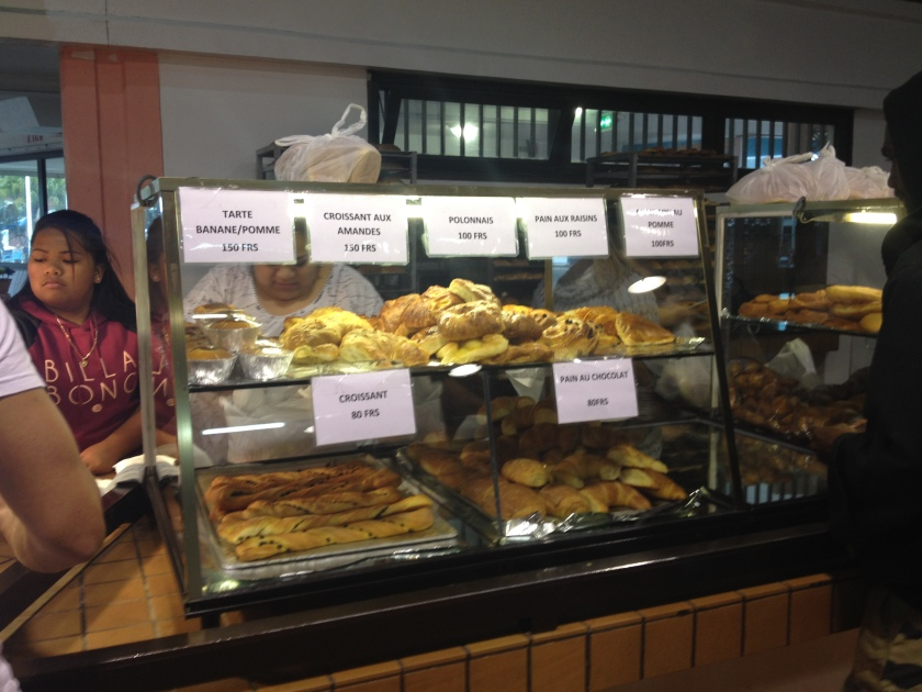 Bakery at Noumea local Market(Photo Credit: lavaleandherworld.wordpress.com)